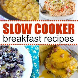 Slow Cooker Breakfast Recipes – Crock Pot Breakfasts