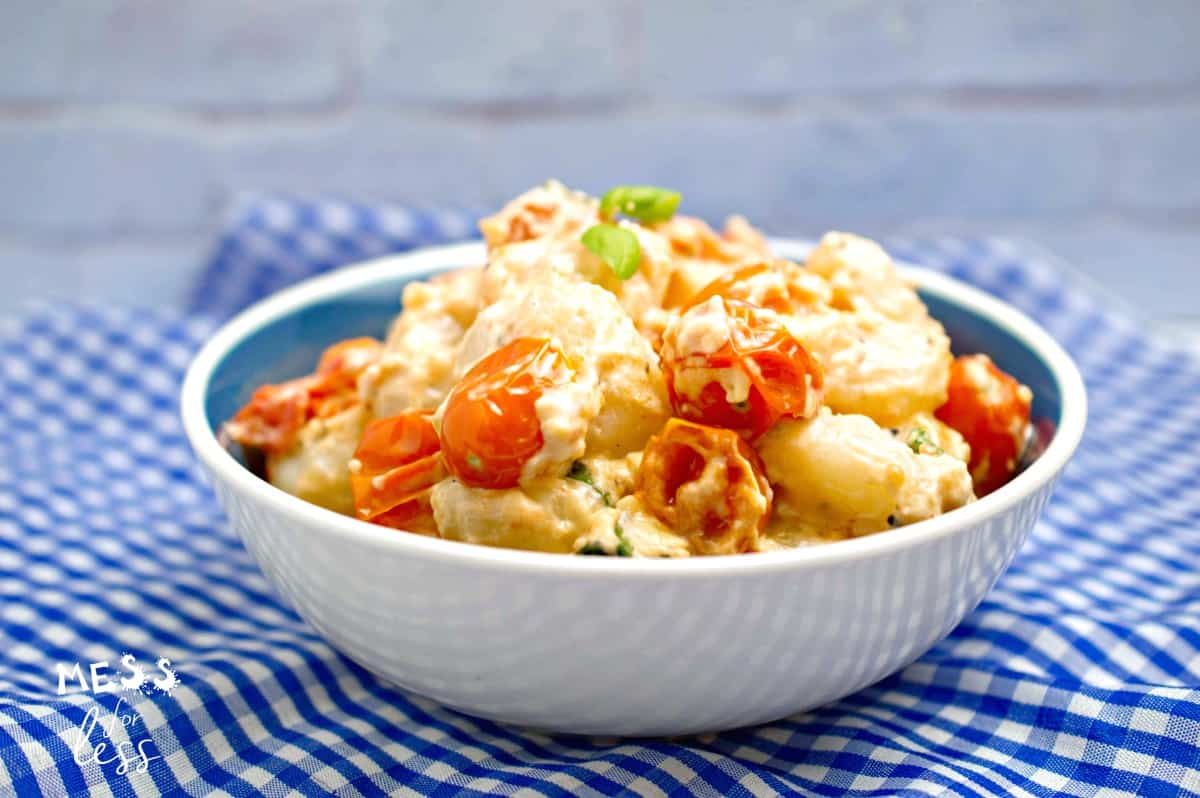Creamy Gnocchi with Tomatoes