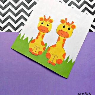 Giraffe Craft for Kids
