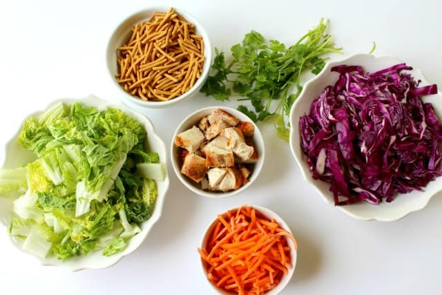 ingredients for chinese chicken salad