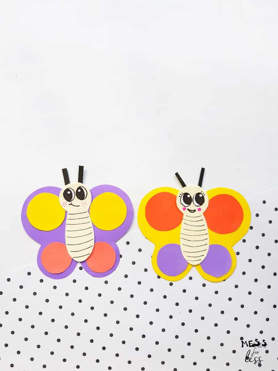 How to Make a Paper Butterfly - Easy Craft for Kids
