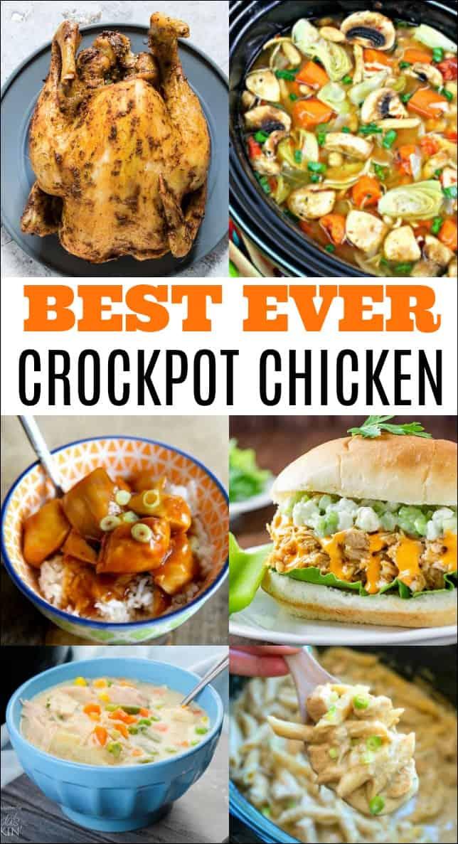 Best Crockpot Chicken Recipes Mess For Less