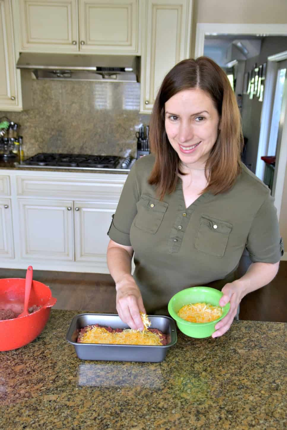 adding cheese to meatloaf