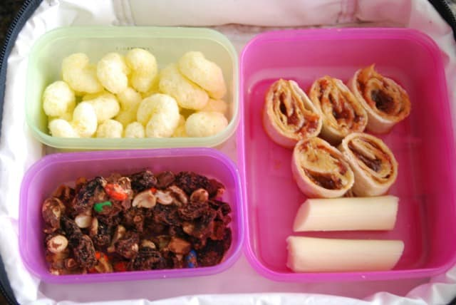 lunch in a lunch box