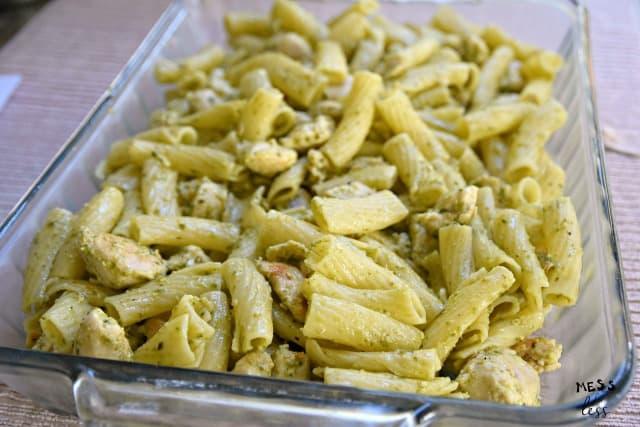 pasta and chicken casserole