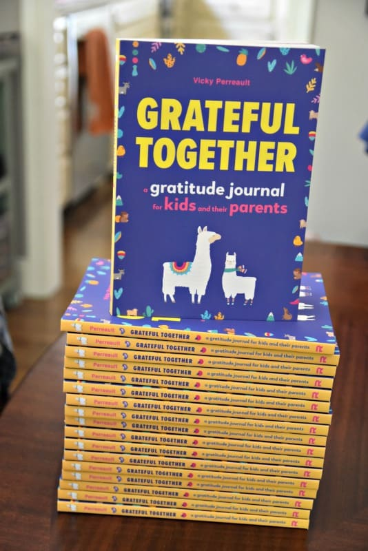 stack of grateful together books