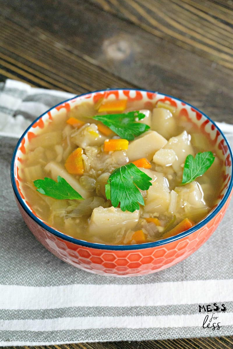 German Potato Soup in the Instant Pot