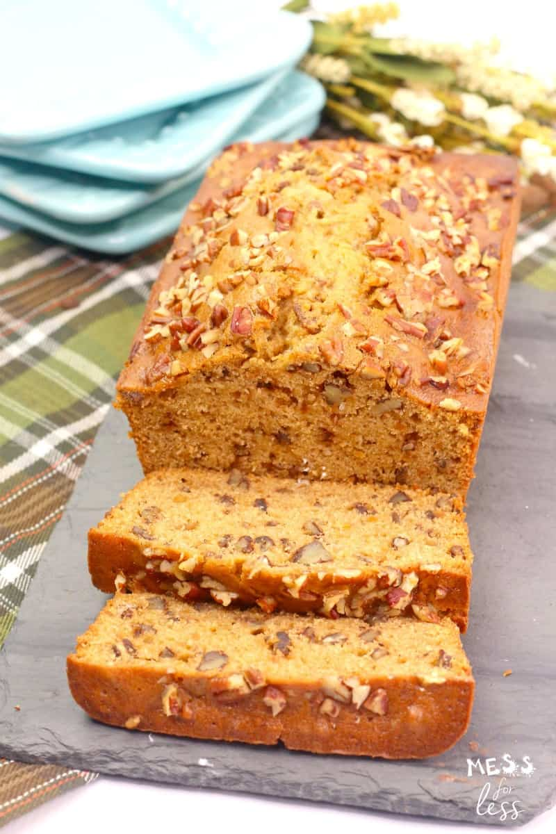 sweet potato bread with pecans