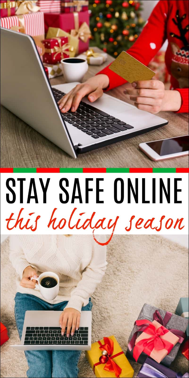 This time of year many of us are doing holiday shopping online. Learn how to Stay Safe Online This Holiday Season with these easy tips. #sponsored #GoogleSecurityCheckup #Google #Security @Google