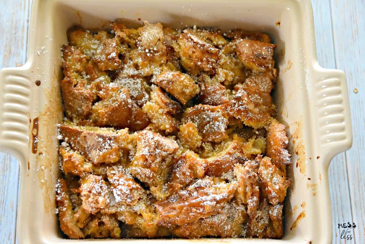 maple french toast casserole