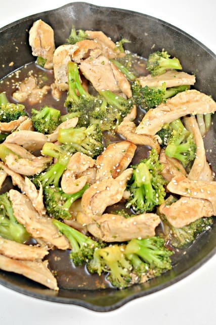 broccoli and chicken dish