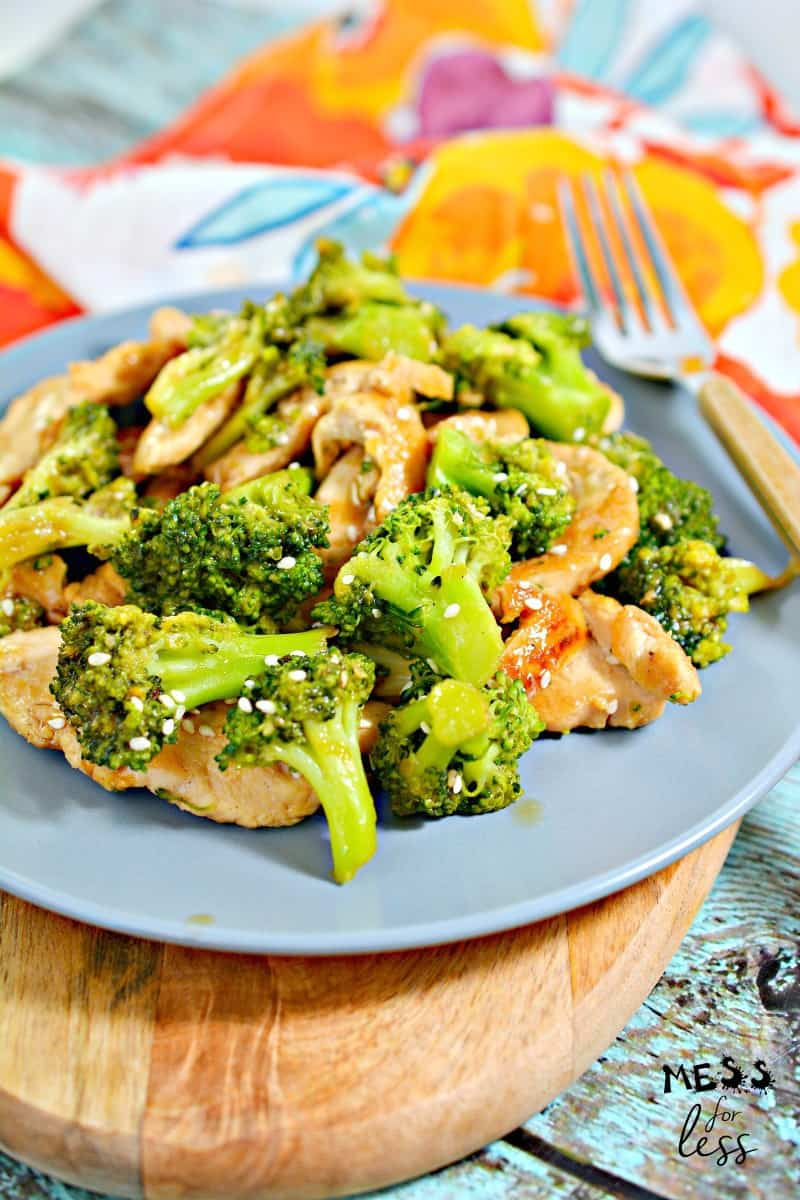 Low Carb Chinese Chicken and Broccoli