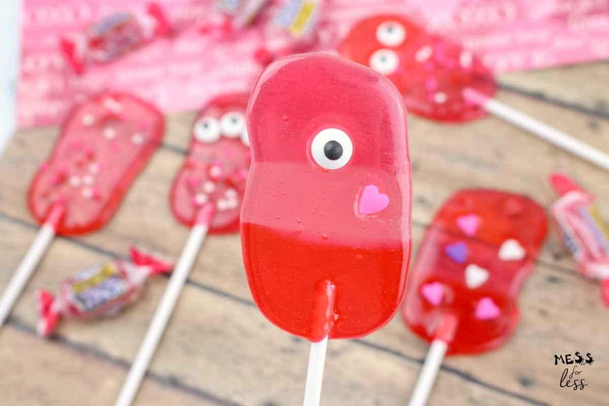 make your own lollipops