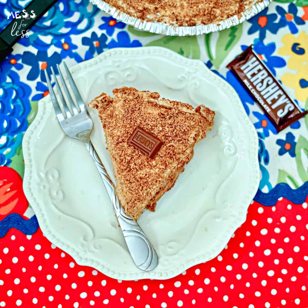 3 ingredient hershey's chocolate pie