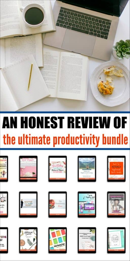 Is the Ultimate Productivity Bundle worth your time and money? I give my honest review, complete with pros and cons. #ultimatebundles