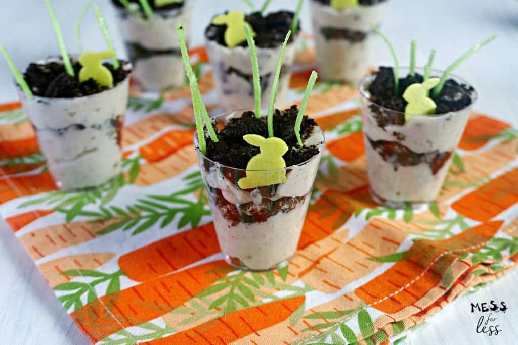 Easter Bunny Dirt Cups