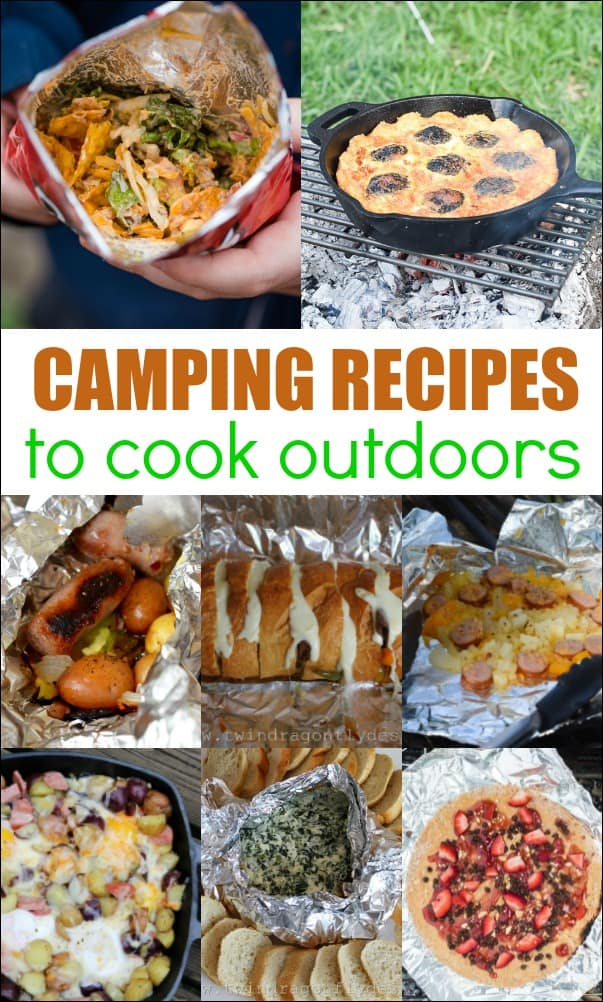 Camping Recipes to Cook Outdoors