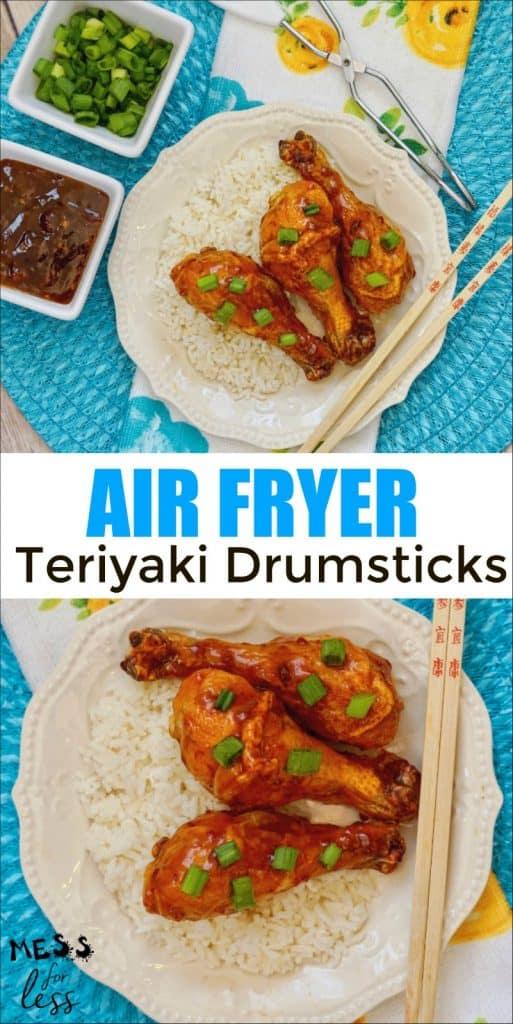 Air Fryer Chicken Teriyaki Drumsticks