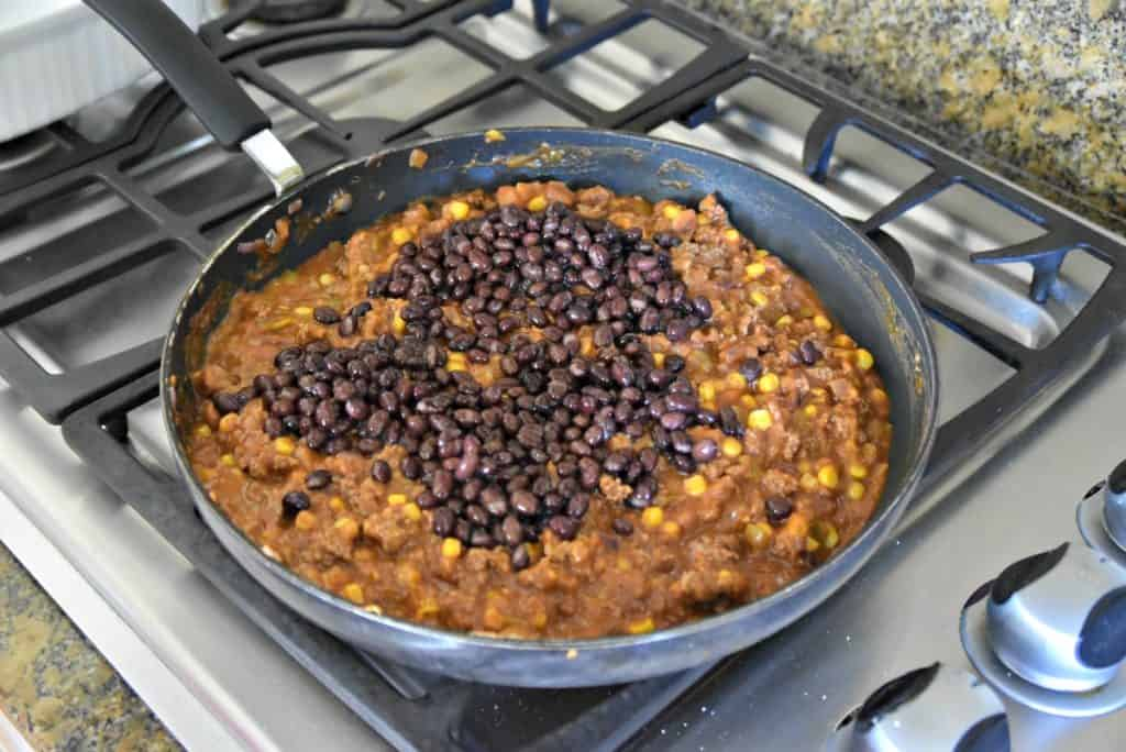 enchilada dip with black beans