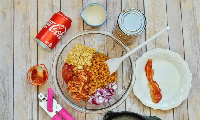 making coca cola baked beans recipe