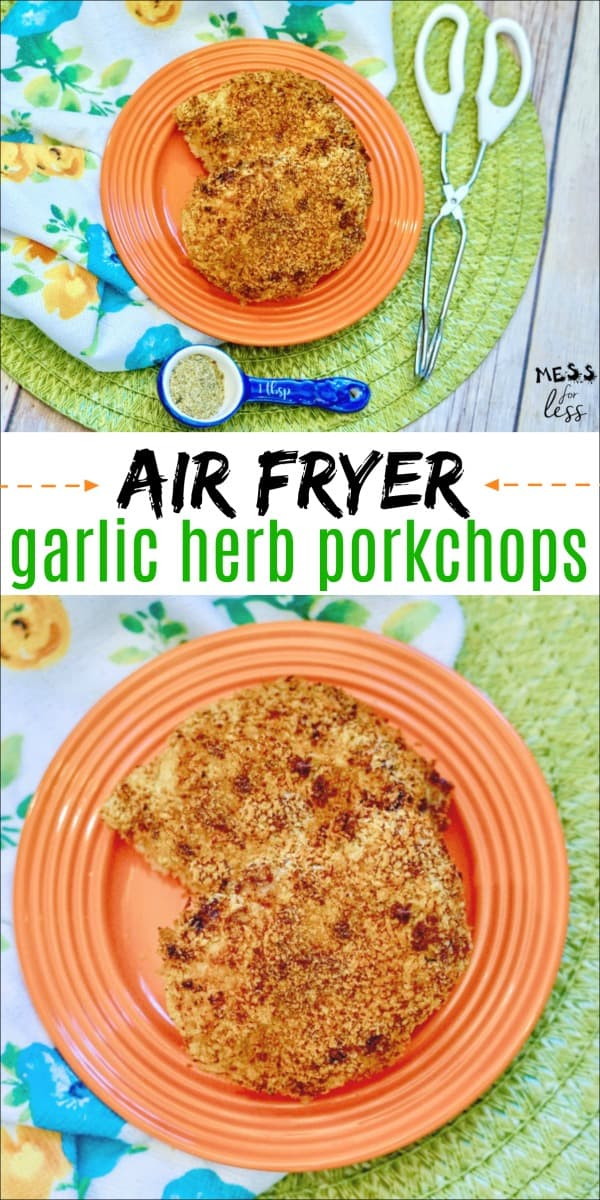 Easy Air Fryer Pork Chops
