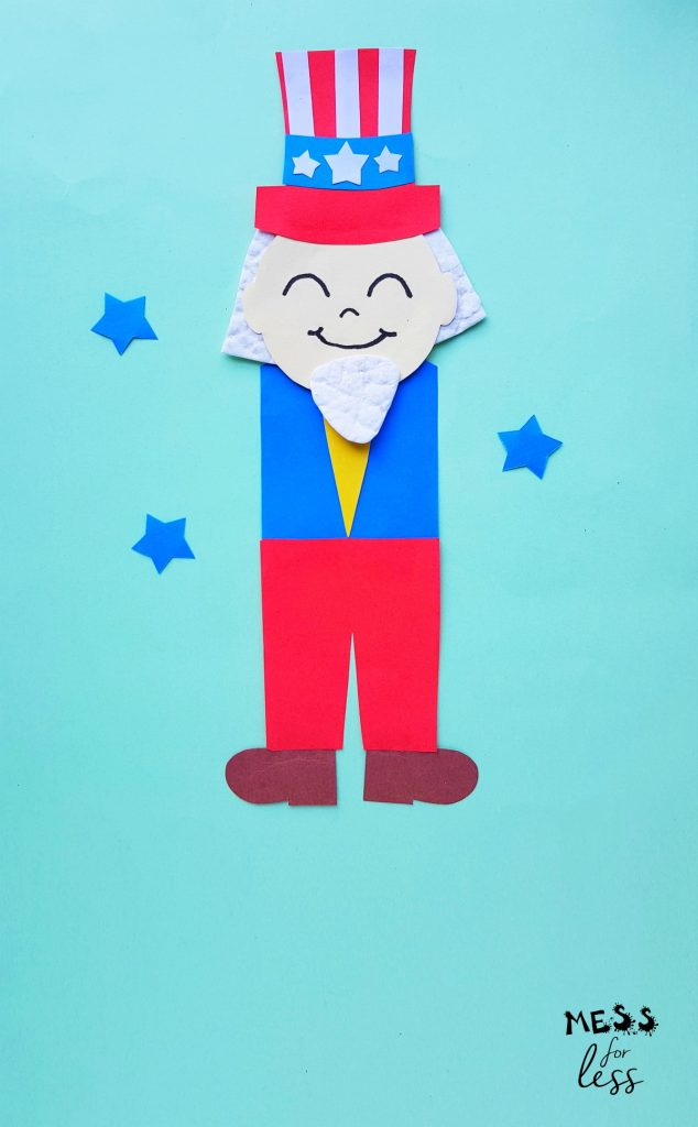 uncle sam kids craft