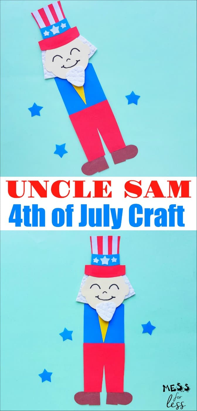 Uncle Sam Craft for Kids