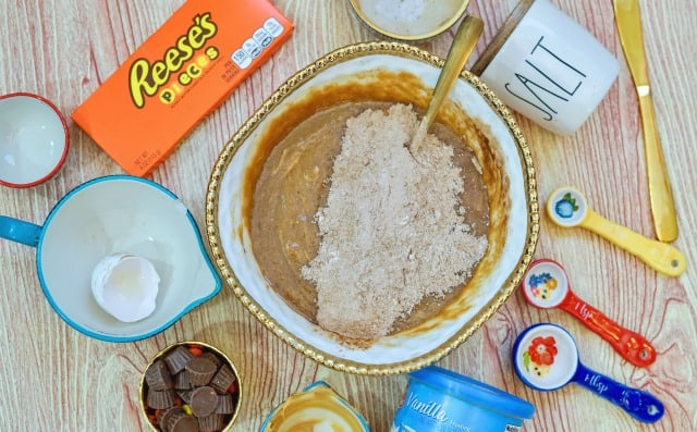 making reese's peanut butter cookies
