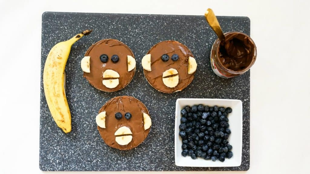 curious george rice cake snack