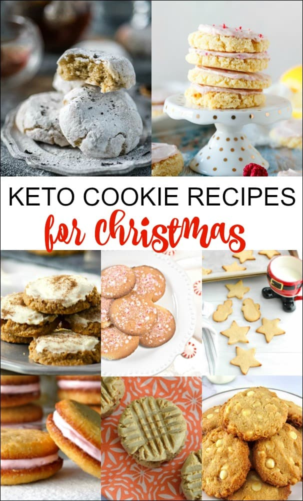 I found some of the best cookie recipes that are keto and low carb friendly that you can enjoy at Christmas. So now when everyone is doing their Christmas holiday baking, you can too. You'll love these Keto Cookie Recipes for Christmas! #keto #lowcarb #ketocookies #lowcarbcookies