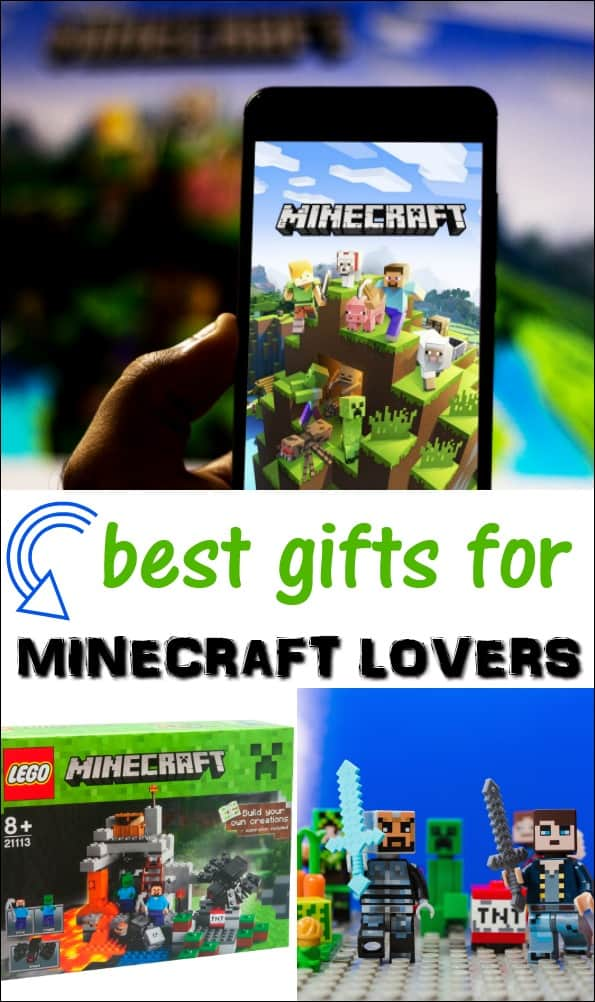 What do you get for the Minecraft lover in your life? I've done all the work for you! Here are the best gifts for Minecraft lovers. These make great Christmas and birthday gifts! #minecraft #minecraftgifts #christmasgifts #giftguides