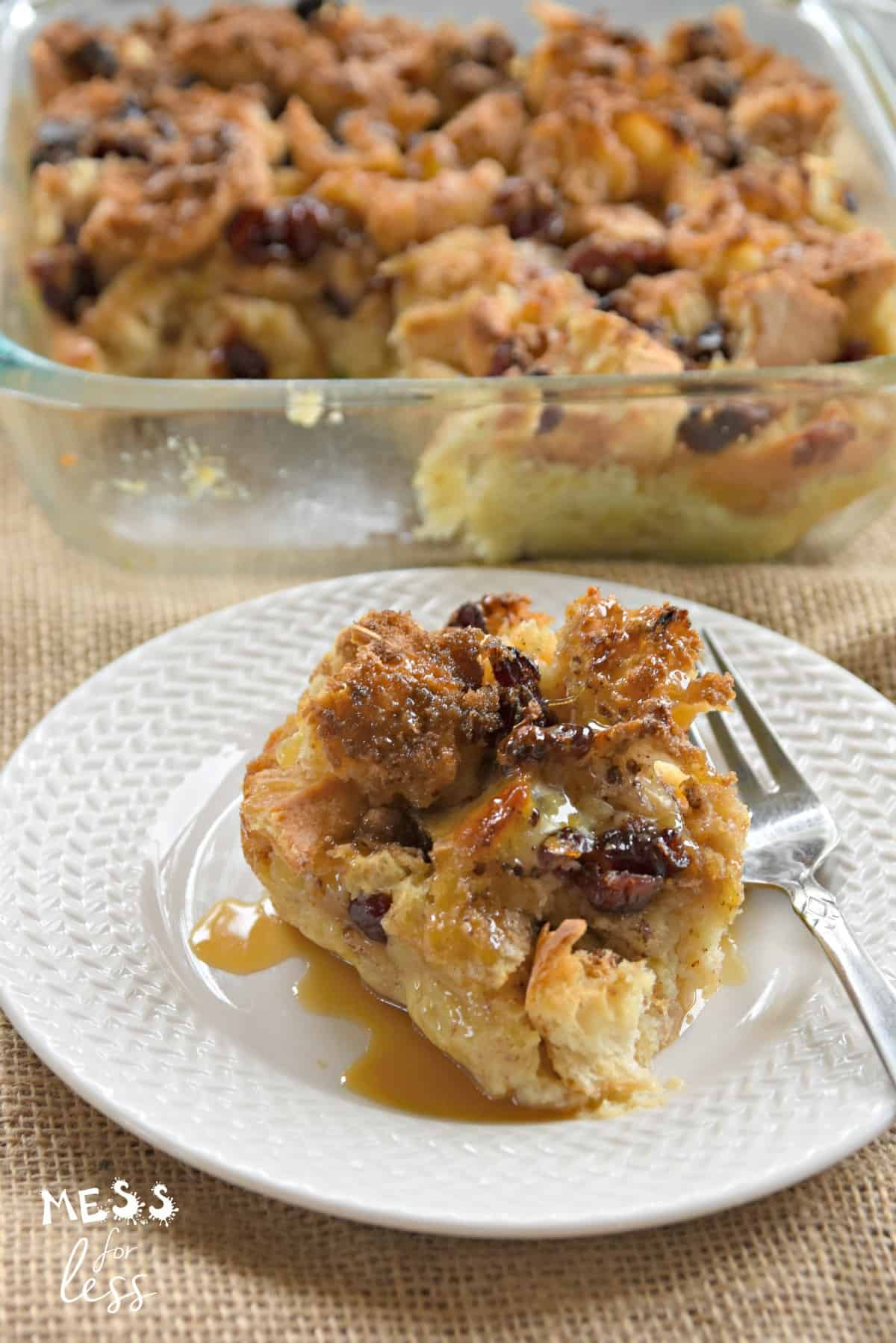 Bread Pudding Recipe - Mess for Less