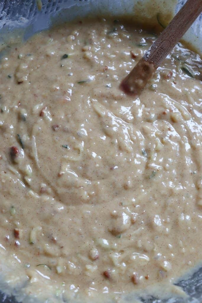 zucchini bread batter