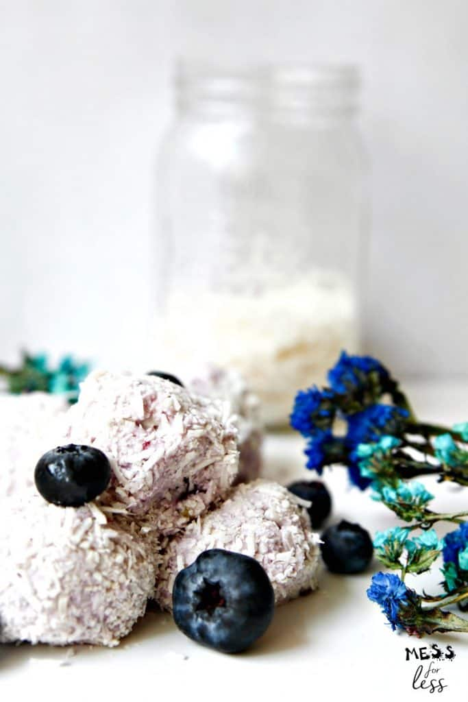 Blueberry Keto Fat Bomb Recipe
