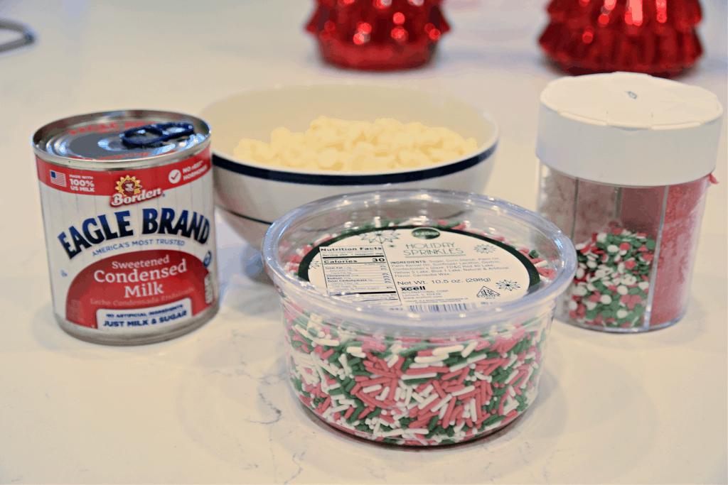 ingredients needed to make fudge