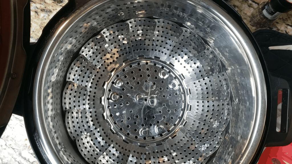 steamer basket in the instant pot