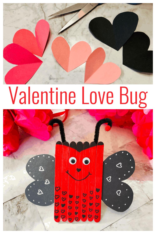 Love Bug Valentine\'s Craft