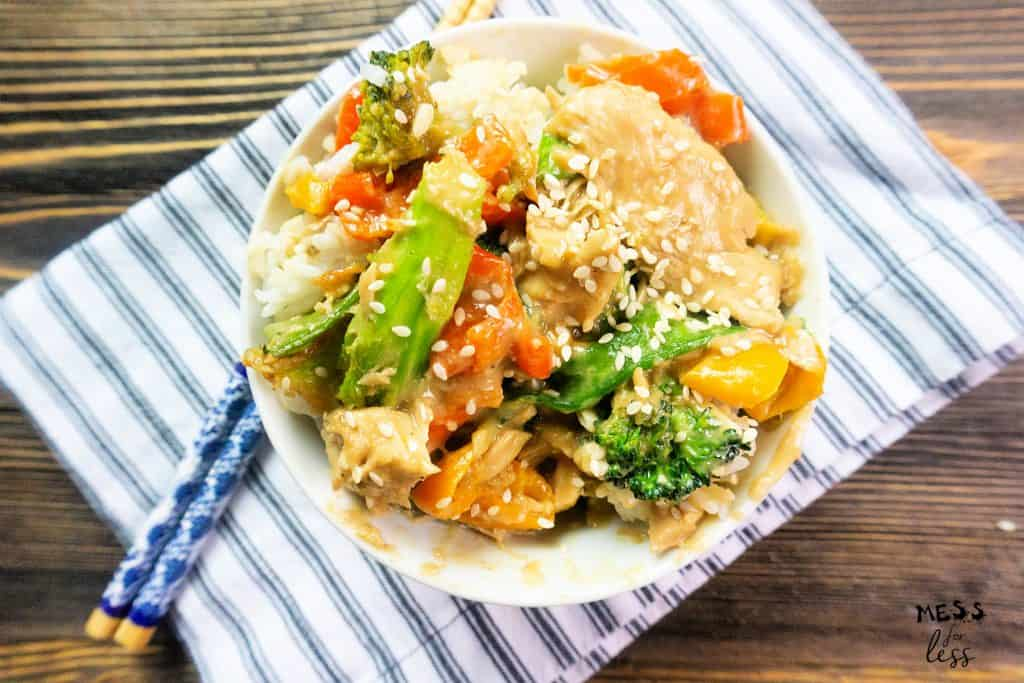 peanut butter chicken in the instant pot
