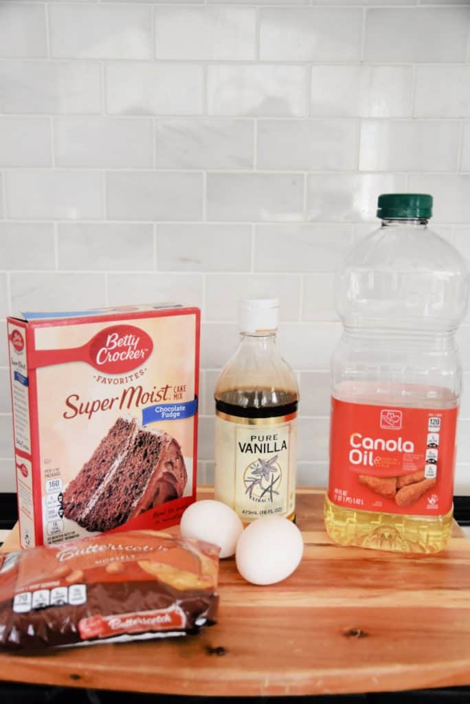 ingredients needed to make cake mix cookies
