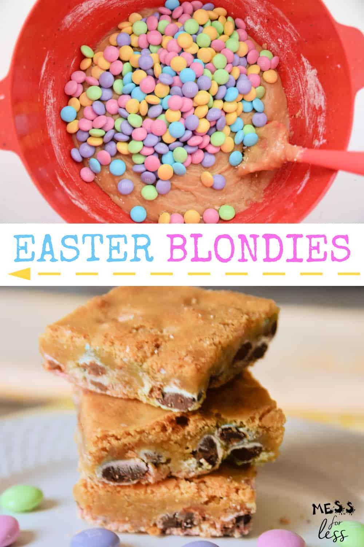 Easter Blondies Recipe