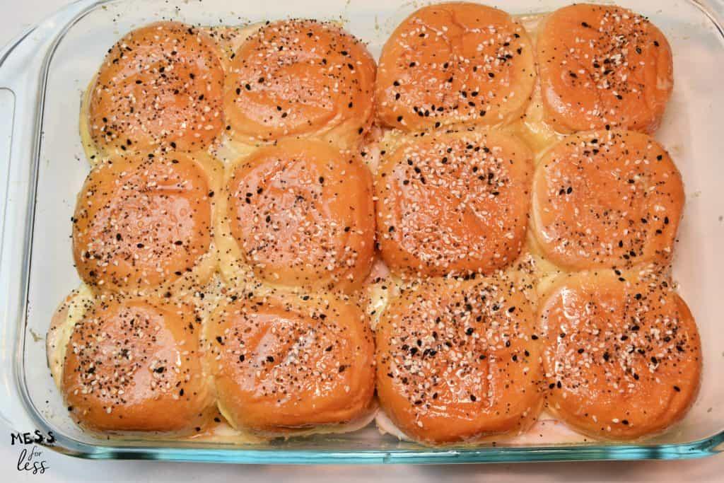 baked slider casserole