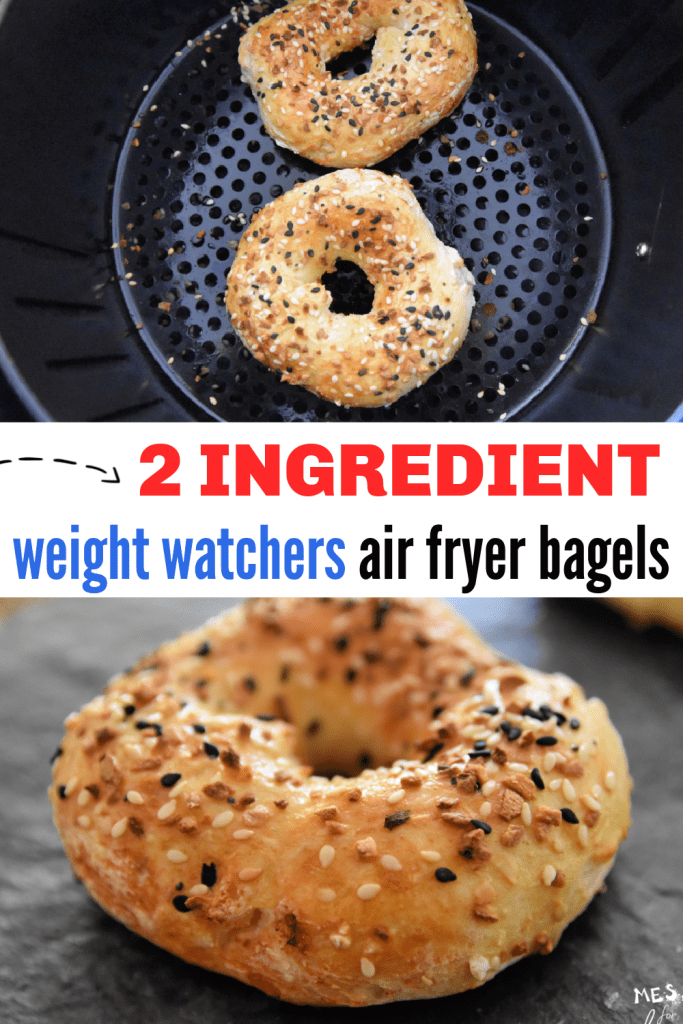 Bagels in an air fryer