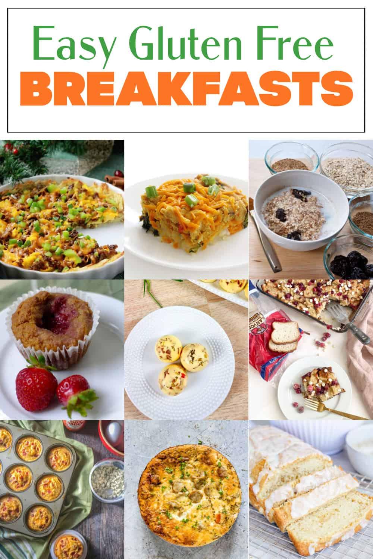 17 Easy Gluten Free Breakfasts